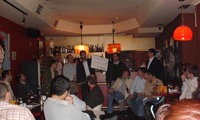 Listado de asistentes al Primer Beers & Entrepreneurs de Madrid