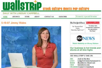 Wallstrip un videoblog que vale 5 millones de dólares