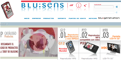 Blusens Technology recibe el premio Joven Empresario de 2006
