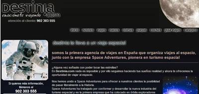 Viaja al espacio con Destinia.com