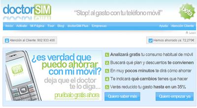 Doctor SIM para ahorrar en la factura del móvil