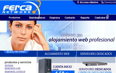 Ferca Network hosting 2.0