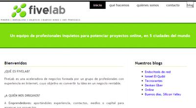 Fivelab, aceleradora de negocios