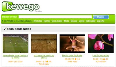 Kewego agregador de videos