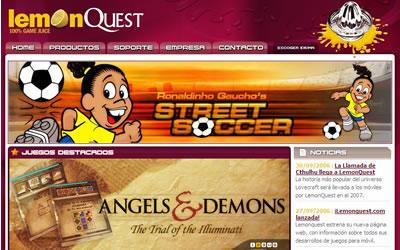 LemonQuest desarrollo de juegos para móviles
