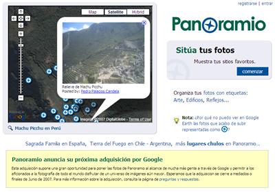 Google compra Panoramio