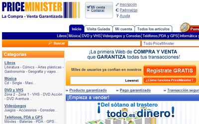 PriceMinister llega a España