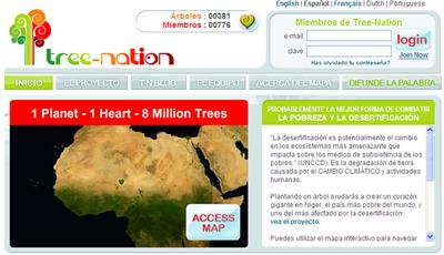 Tree Nation, plantar 8 millones de árboles en Niger