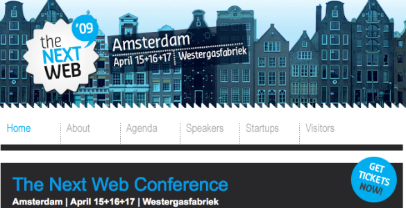 The Next Web Conference en Amsterdam
