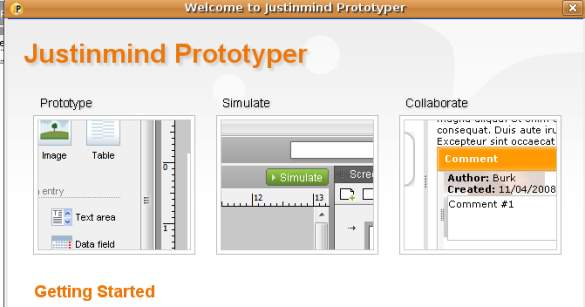 Justinmind Prototyper 2.5, prototipos web made in Spain