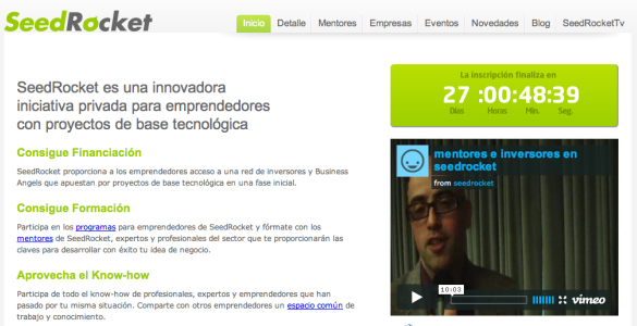 Cuarto Campus de Emprendedores SeedRocket