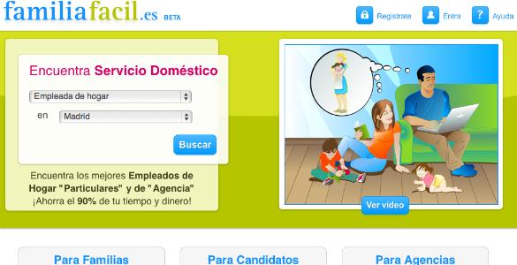 Familia Fácil, la web que te ayuda en el hogar