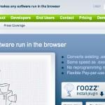 Roozz convierte las aplicaciones para la Google Chrome Web Store
