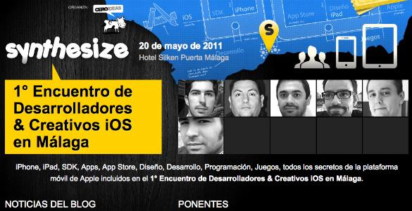 Synthesize Málaga evento para desarrolladores iOS