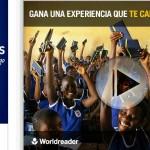 eDreams apoya la iniciativa solidaria de Worldreader