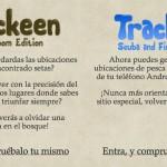 Trackeen aplicaciones temáticas en Android