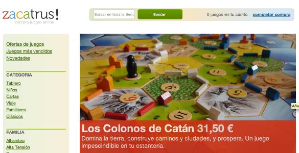 Zacatrus Tienda Online De Juegos De Mesa Loogic Startups
