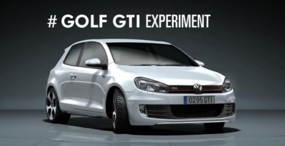 #GolfGTIExperiment