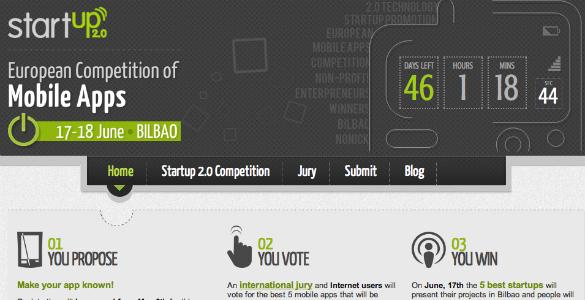 Concurso de aplicaciones móviles Startup 2.0