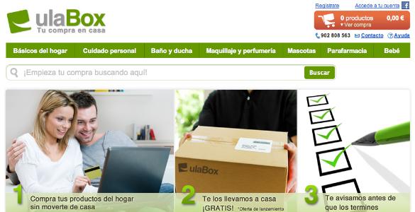 Ulabox, el supermercado de productos para el hogar