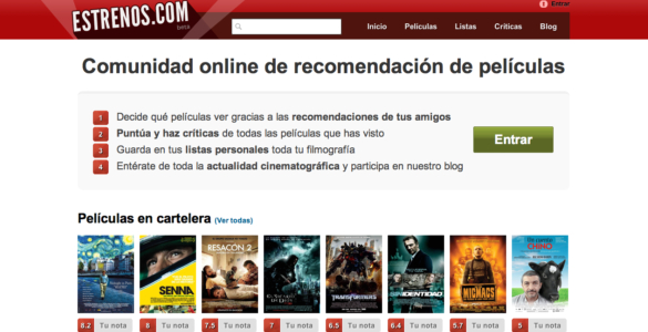 Nace Estrenos.com