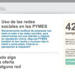 Encuesta: uso de las redes sociales en las PYMES