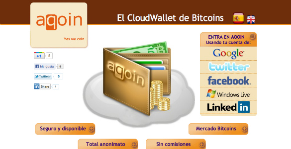 Aqoin facilita el uso de la moneda virtual Bitcoin