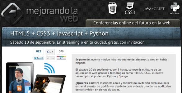 Conferencia online Mejorando La Web
