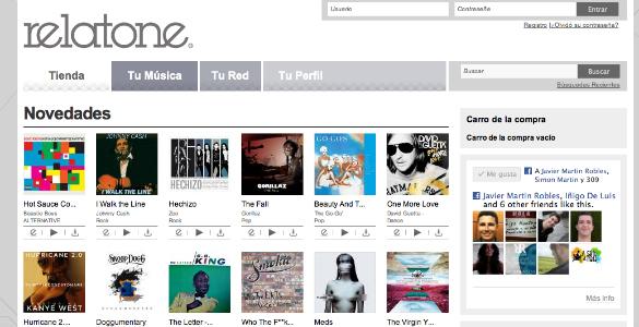 Relatone en el difícil negocio de la música online