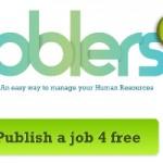Joblers, una bolsa de empleo en un widget