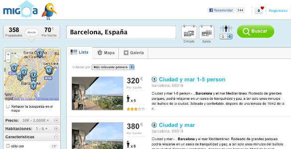 Migoa nueva web de alquiler vacacional