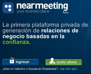 Nearmeeting te ayuda a conseguir reuniones de negocio