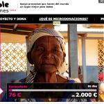 Microdonaciones para ONG's con Hazloposible