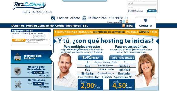 Host Europe compra RedCoruna