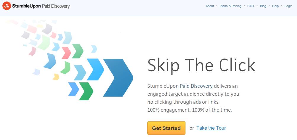 StumbleUpon lanza nueva aplicación Android en el #mwc12