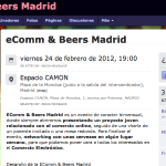 Ecomm & Beers el evento de networking sobre ecommerce en Madrid