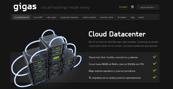 Dos meses gratis para probar el Cloud de Gigas