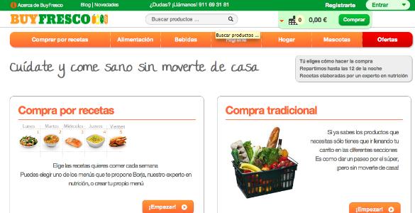 BuyFresco un nuevo supermercado online enfocado en alimentación