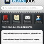 CasualJobs directorio de profesionales para iPhone