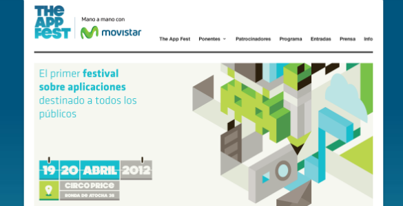 The App Fest 19 y 20 de abril en Madrid