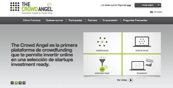 The Crowd Angel, iniciativa de crowdfunding impulsada por Inveready