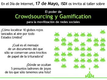El poder del crowdsourcing y la gamificación para la movilización de las redes sociales