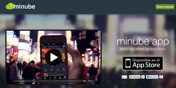 Espectacular lanzamiento de la nueva app de Minube para iPhone