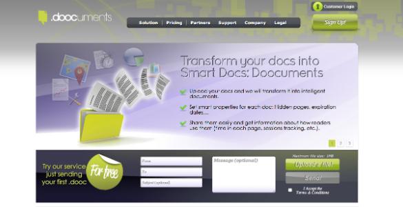 Doocuments se ofrece de forma gratuita a los emprendedores