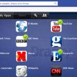 Dragsy para la integración de noticias y utilidades dentro de Facebook