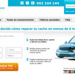 Taliaris permite obtener presupuestos para reparaciones de coches