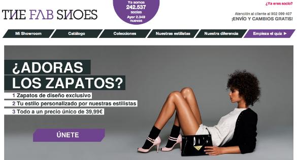 The Fab Shoes en la tendencia de la personalización en ecommerce