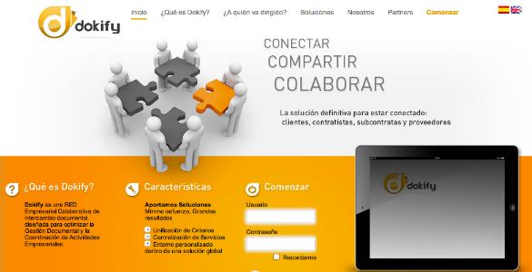Dokify, red empresarial colaborativa de intercambio documental
