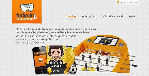 Futboling, la reinvención tecnológica del tradicional futbolín y con fines sociales