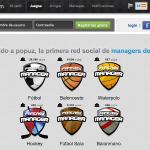 Popuz red social de juegos deportivos